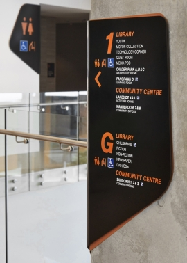 Brandculture Weaves Tales of the Raceway Inside Oran Park Library (image: signage)