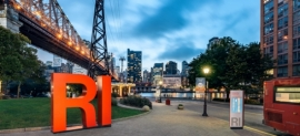 Clean, Classic, Compelling—Wayfinding New York's Roosevelt Island