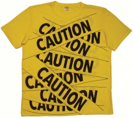 Don Kiel Wins Award for SEGD Auction Project: Caution Tape T-Shirt