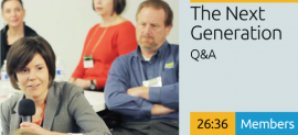 The Next Generation - Q&A