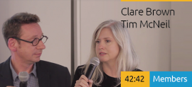 Tim NcNeil and Clare Brown: The Future of XGD