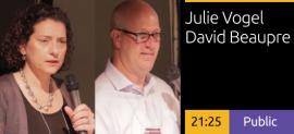 Julie Vogel and David Beaupre-Signage as a Change Agent