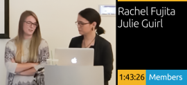 Rachel Fujita and Julie Guirl - Creating Content with Image, Type and Video