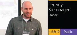 Jeremy Sternhagen - Planar Screens and Media Integration