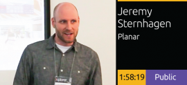 Jeremy Sternhagen - Planar Screens and Media Integration