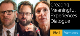 Creating Meaningful Experiences Dialogue