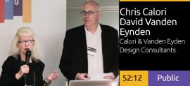 Chris Calori & David Vanden-Eynden - Looking Forward/Looking Back