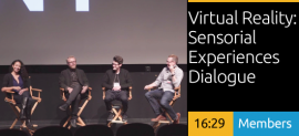 Virtual Reality: Sensorial Experiences Dialogue