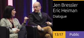 Jennifer Bressler and Eric Heiman Dialogue