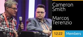Cameron Smith and Marcos Terenzio Dialogue