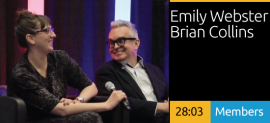 Emily Webster & Brian Collins Dialogue