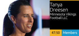Tanya Dreesen - Activating Fan Experiences At U.S. Bank Stadium
