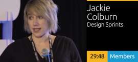 Jackie Colburn - Design Thinking: Design Sprints