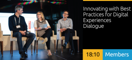 Innovating with Best Practices for Digital Experiences Dialogue