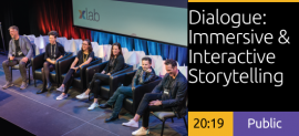 Dialogue: Immersive & Interactive Storytelling for Cultural & Consumer-centric Experiences
