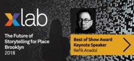 Xlab 2018 Keynote Refik Anadol on Archive Dreaming