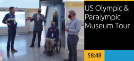 US Olympic & Paralympic Museum Tour