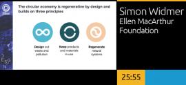 Simon Widmer, Ellen MacArthur Foundation