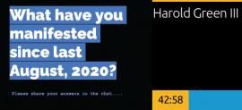 Manifesto Primer 2.0- Harold Green III