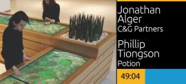 Memory Koi Memorial Sloan Kettering Cancer Center, Jonathan Alger & Phillip Tiongson