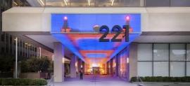 221 Main Digital Facade