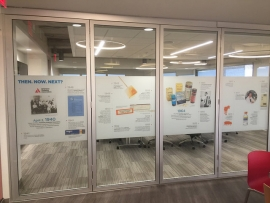 Mactac Vinyl Product Used in American Diabetes Association Project