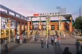 Photo of BB&T Ballpark wayfinding