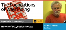 SEGD course the foundations of Wayfinding, Romedi Passini and Sue Gould