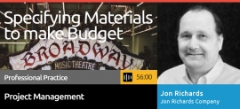 Specifying MAterials to make Budget Podcast by Jon Richards and Phil Bolduc of SEGD