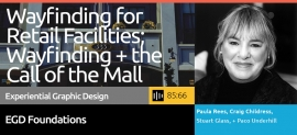Start with the overall business practices of wayfinding by leading firms, then dive into the current wayfinding design methodologies employed today.