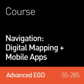 2014 Webinar | Navigation: Digital Mapping + Mobile Apps