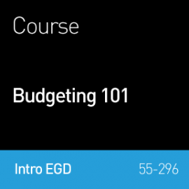 Webinar 2015 | Budgeting 101