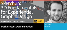 SEGD Podcast about the fundimentals of Sketchup for Experential Graphic Designers