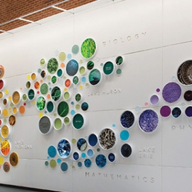 Buffalo State College Donor Recognition Wall