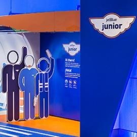 JetBlue Junior Children's Play Area