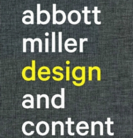 Abbott Miller, Design and Content