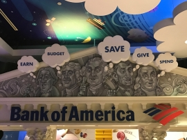 Bank of America Children's Museum Facade by Skolnick