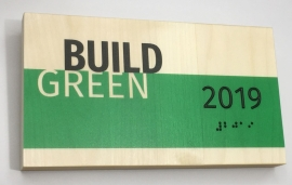 "Green Dot Sign Named ""Most Innovative"" Exhibitor at 2019 Greenbuild"