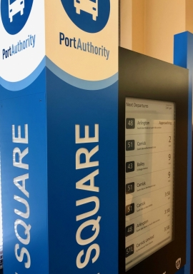 Port Authority Connectpoint Real-Time Information Displays Success Generate New Contract