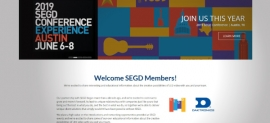 Daktronics Releases New Portal for SEGD Members (image: website screenshot)