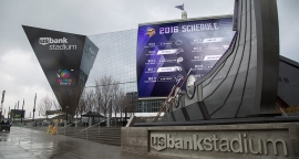 U.S. Bank Stadium Primed for Football's Big Game with Daktronics Displays
