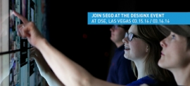 SEGD DesignX at DSE 2015, March 15-16, Las Vegas