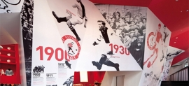 Photograph of the Ajax Football Experience Amsterdam