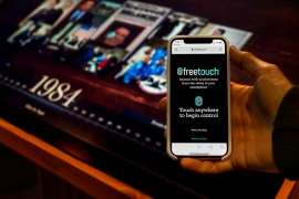 Freetouch Launches Smartphone Interaction for Public Touchscreens