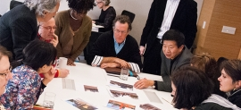 Photograph of Design Awards Jury Deliberating