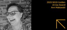 2020 SEGD Golden Arrow Award Winner, Ann Makowski