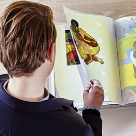 Interactive Books on Paul Gauguin