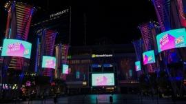 SNA Tower Lighting Enhances Vibe at L.A. LIVE