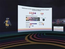 Langara Design Formation Department Built Their Graduate Showcase in a Virtual Gallery