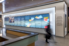Mount Sinai Hospital Donor Wall by Envision